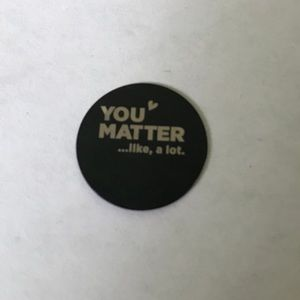 Origami Owl You Matter Plate